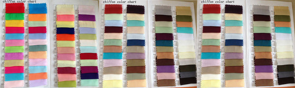 promnova.com|Chiffon color swatches for homecoming dresses