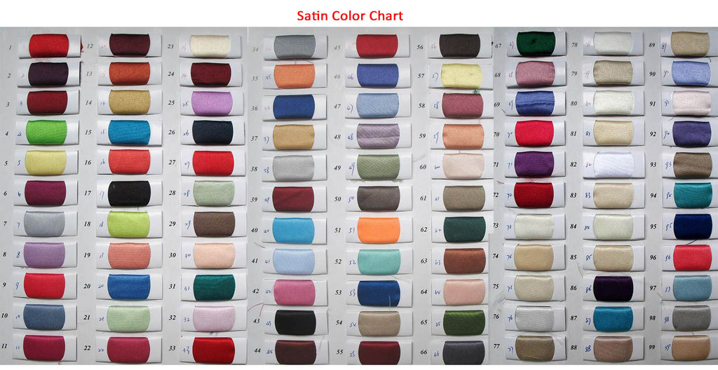 Satin color swatches | Prom Dresses | Evening Dresses | Wedding Dresses | www.promnova.com