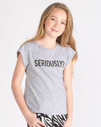 Swag Tee - Seriously Grey