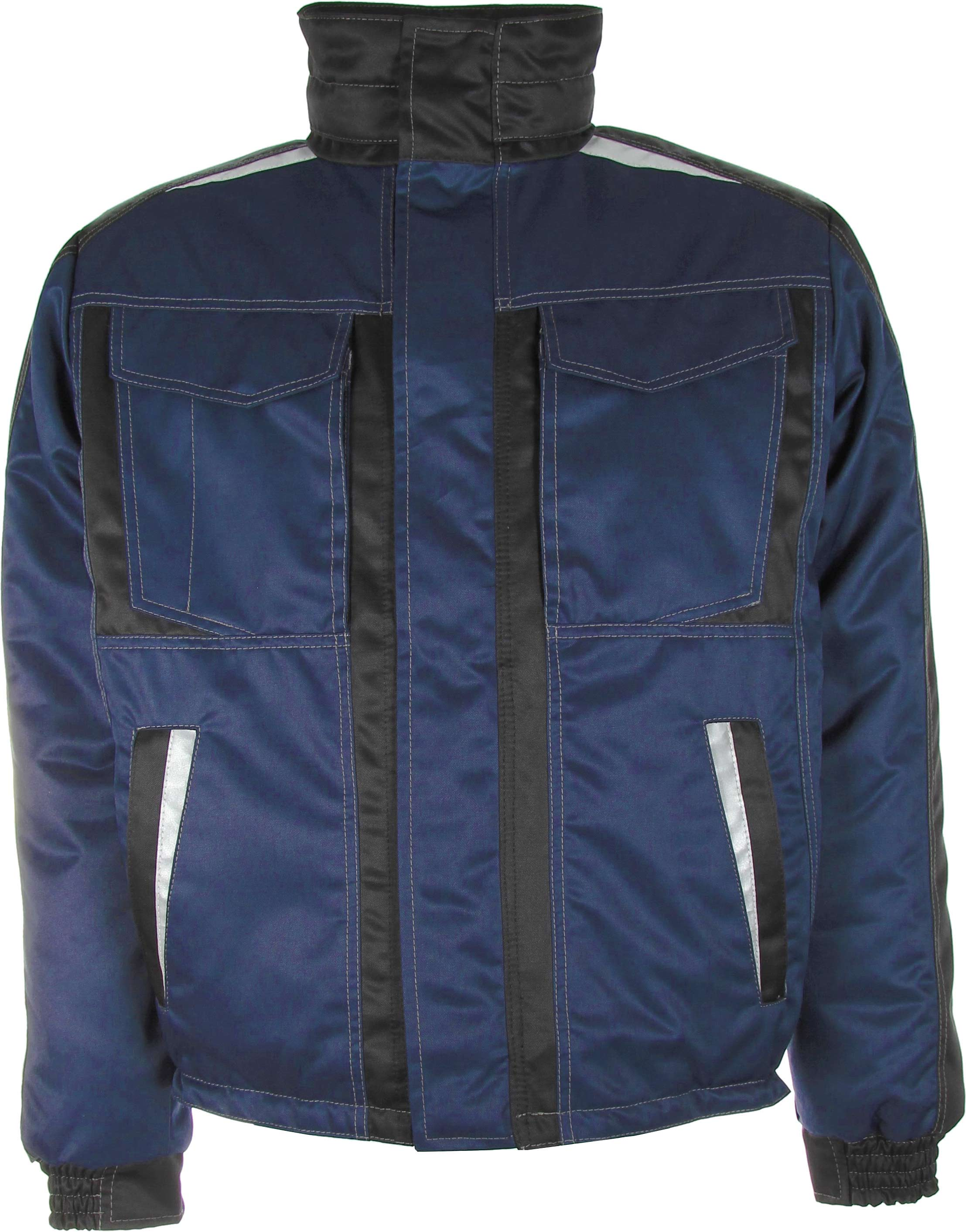 Winter Arbeitsjacke blau