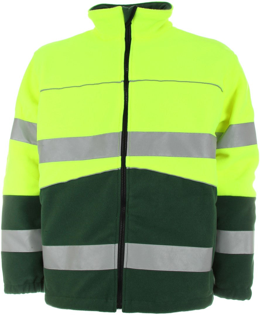 WARNSCHUTZ-FLEECEJACKE  »Boston«  EN 471 wasserdicht