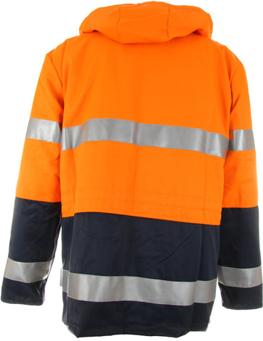 Warnschutz Parka Orange