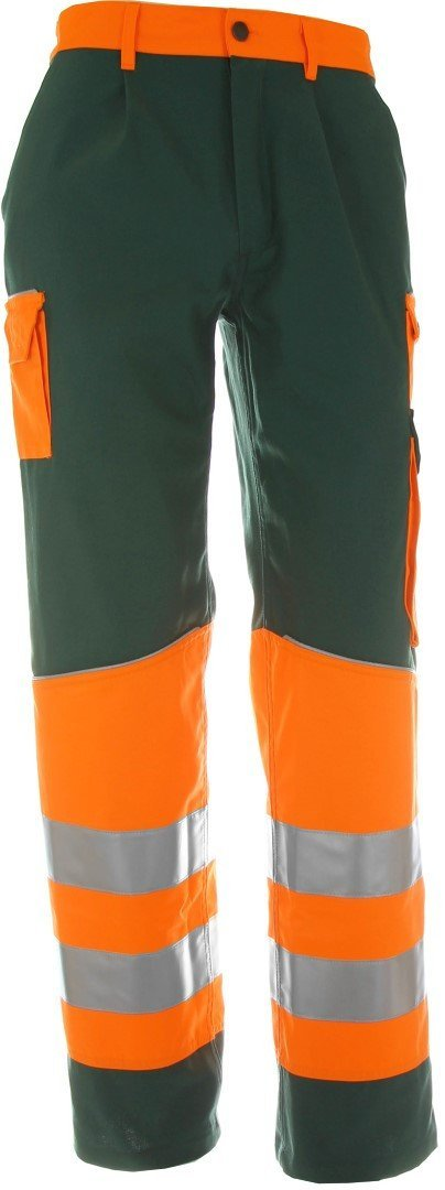 Warnschutz Bundhose grün/orange Made In Europa