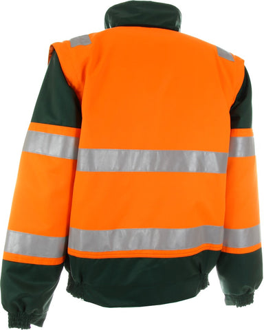 2-in-1 WARNSCHUTZ PILOTENJACKE »Seattle« EN 471