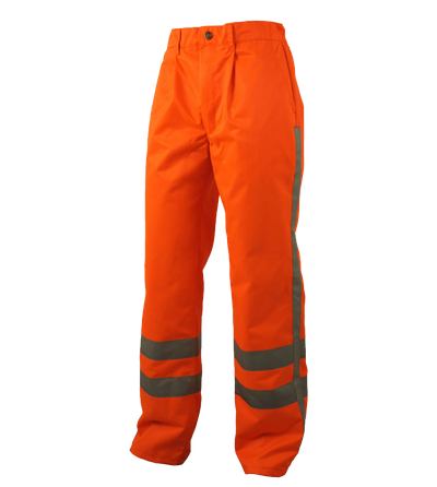 Warnhose Leuchtend Orange