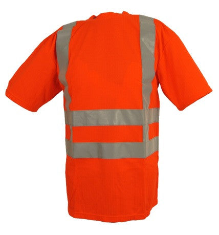 Warnschutz T-Shirt orange