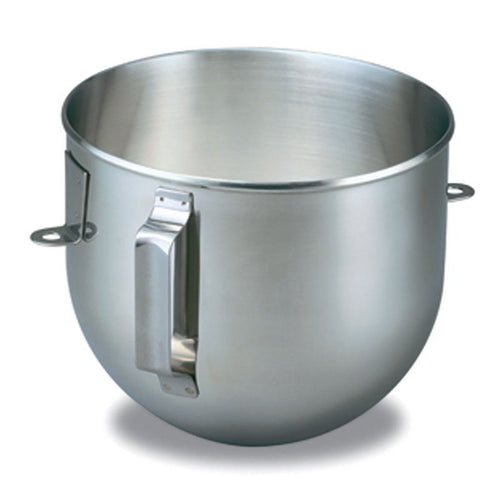 5QT Stainless Steel Bowl-Flat Handle