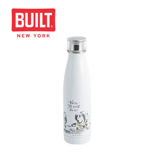 Built V&A 500ml Double Walled Stainless Steel Water Bottle, Alice in Wonderland