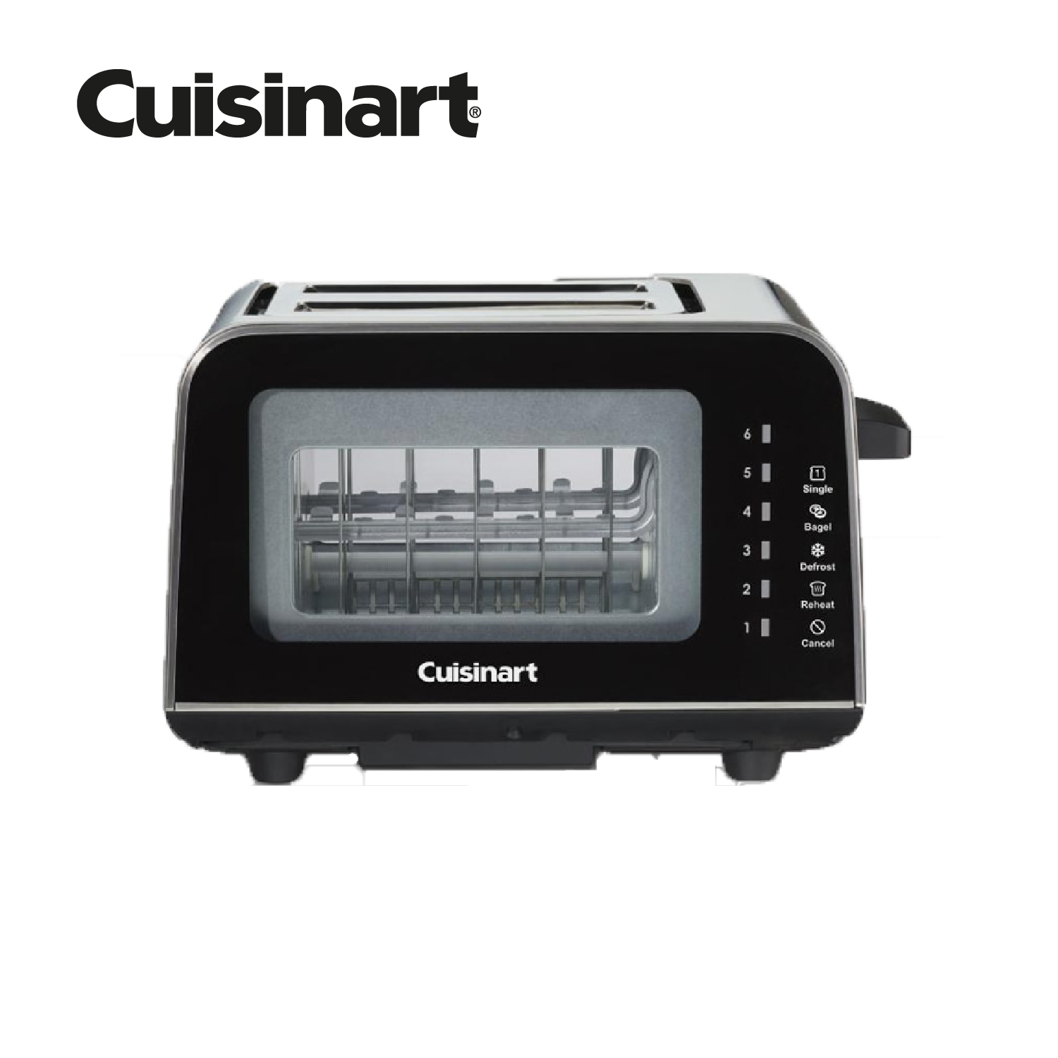 Cuisinart ViewPro™ Glass 2 Slice Toaster