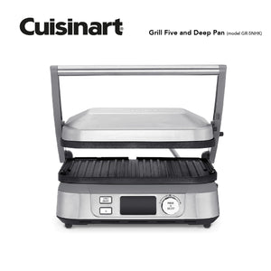 Cuisinart Grill Five and Deep Pan [NEW]