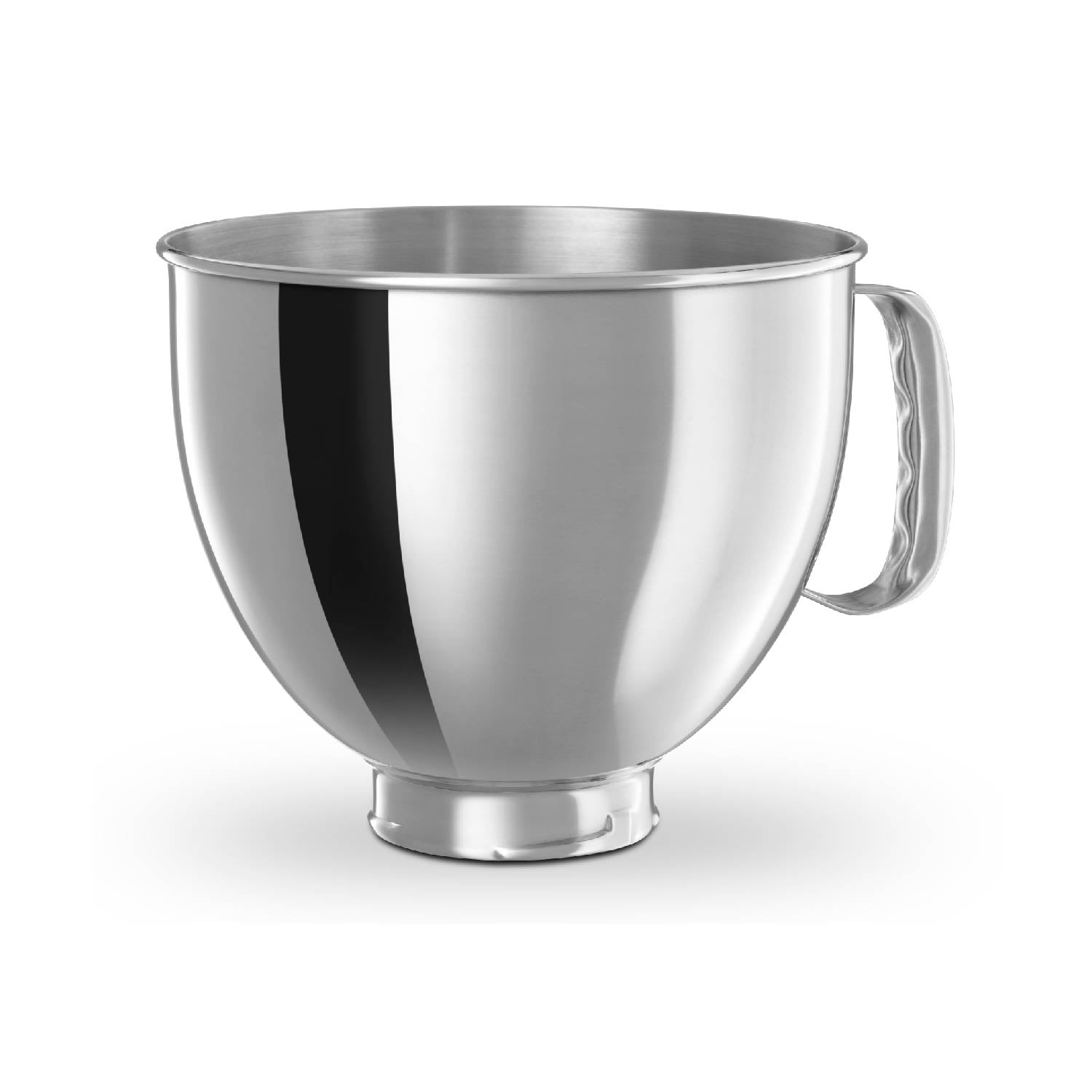 4.8L Stainless Steel Bowl with handle