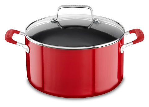 Aluminum Nonstick 8 Quart Stockpot with Lid