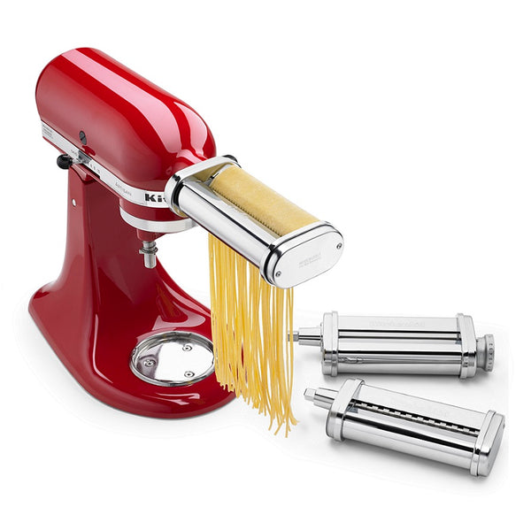 3 Piece Pasta Roller & Cutter Set