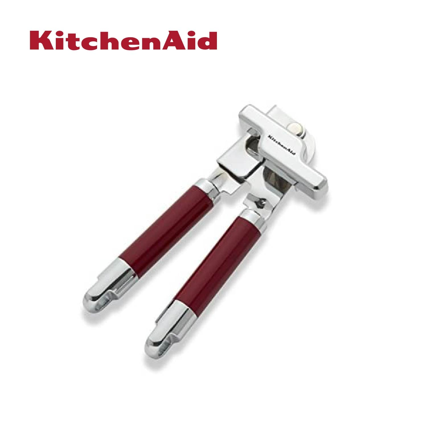 Stainless Steel Can Opener (Red)