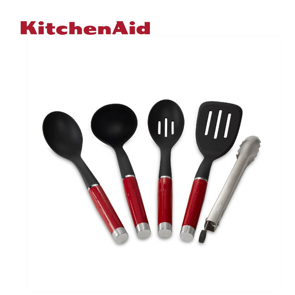 Limited Edition 100 Year Queen of Hearts Culinary Utensils Set (Passion Red)