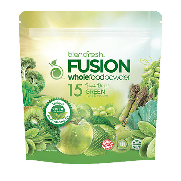 Blendfresh 15 Green Fruits & Vegetables Whole Food Powder