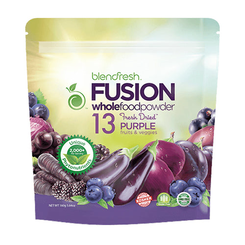 Blendfresh 13 Purple Fruits & Vegetables Whole Food Powder