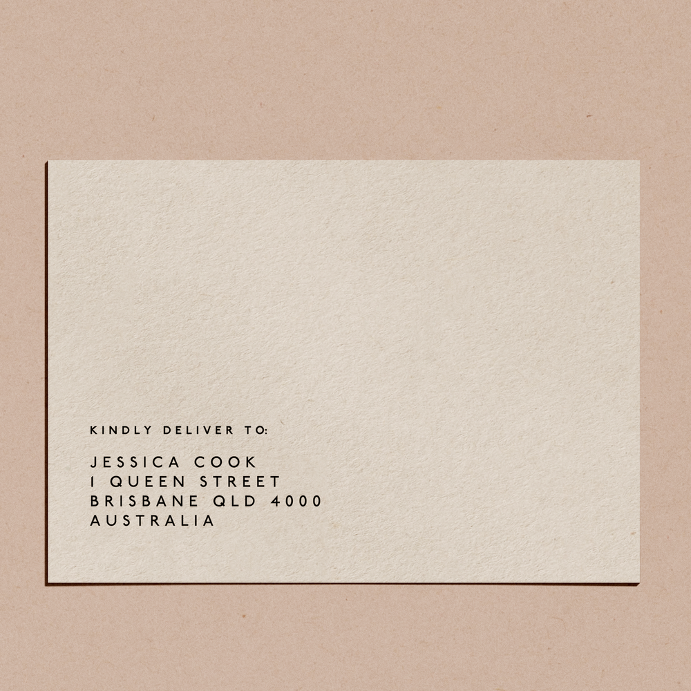 'Capital' | Envelope Printing