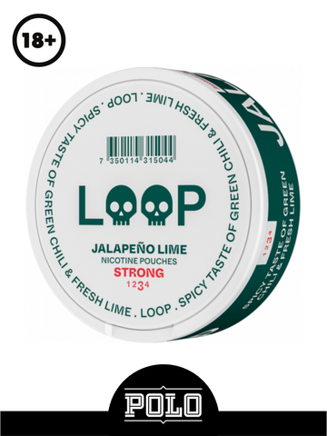 LOOP JALAPEÑO LIME STRONG