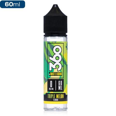 Vökvar:360 Twist Triple Melon 60 ml