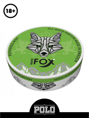 WHITE FOX PEPPERED MINT