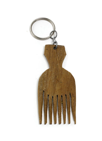 Afro Comb Keychain