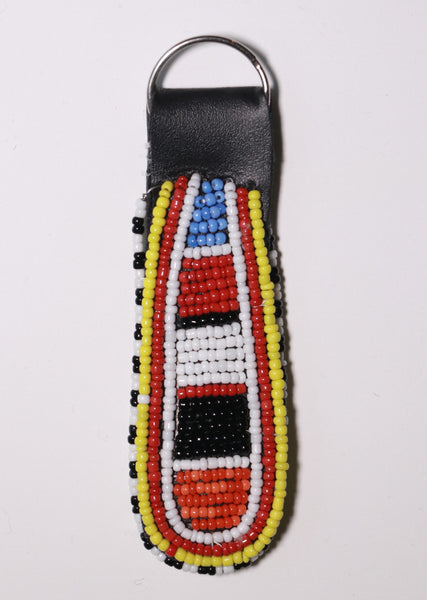 Massai Beaded Key Chain