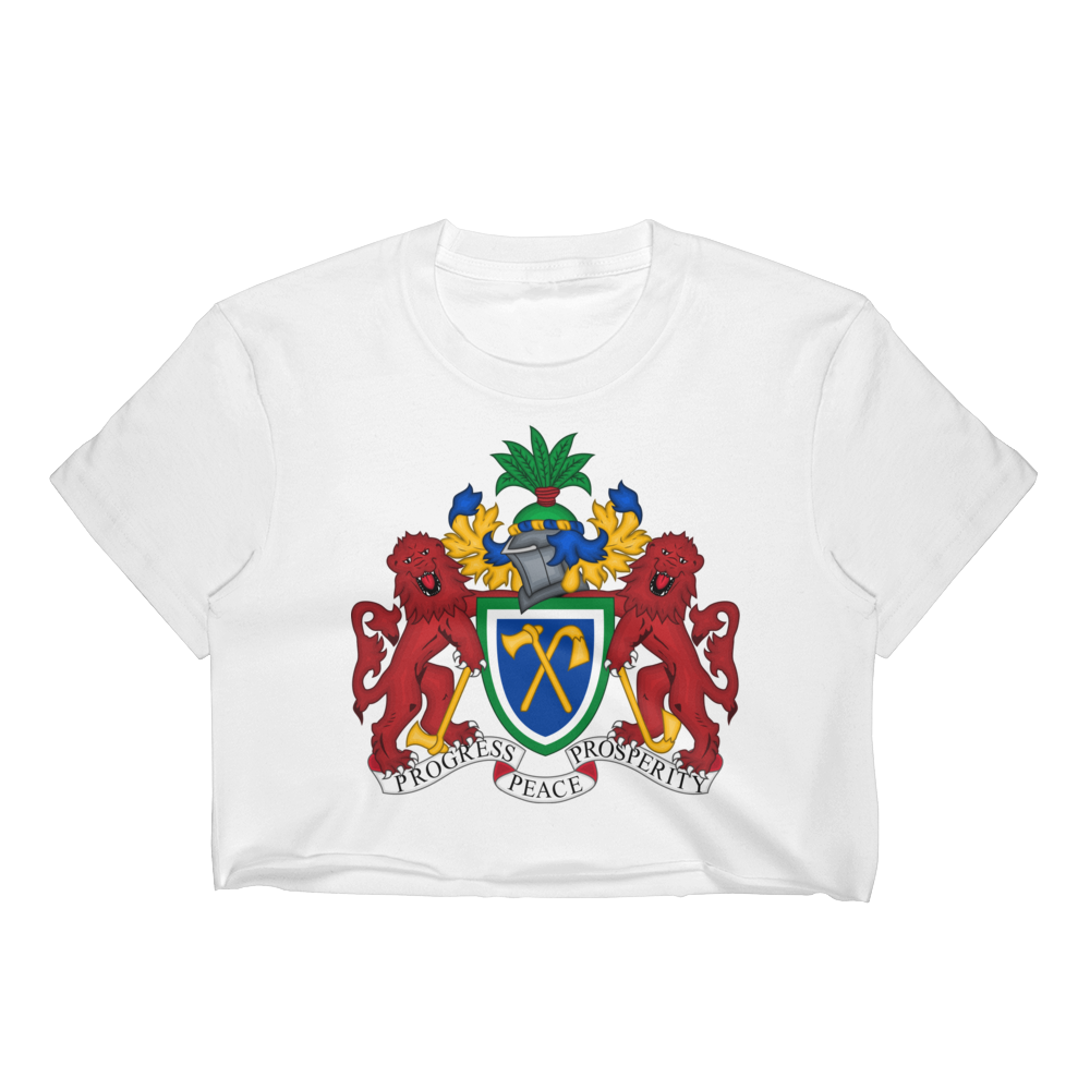 Gambia Women's Crop Top