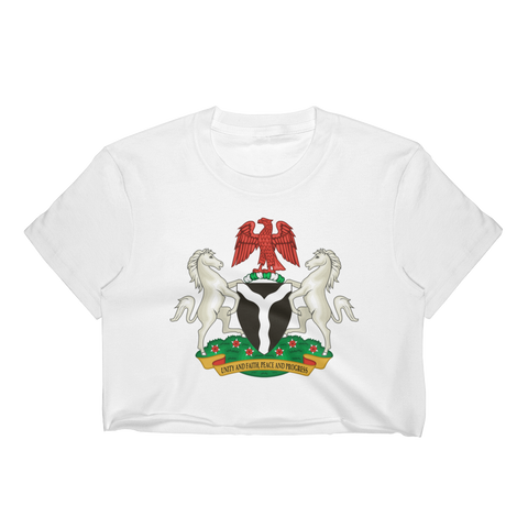 Nigeria Women's Crop Top
