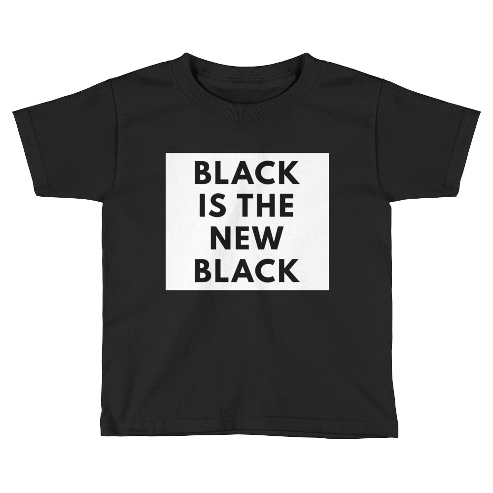 Black is the New Black Kids Short Sleeve T-Shirt