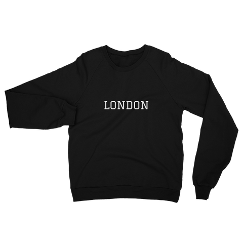 London Unisex Fleece Sweatshirt