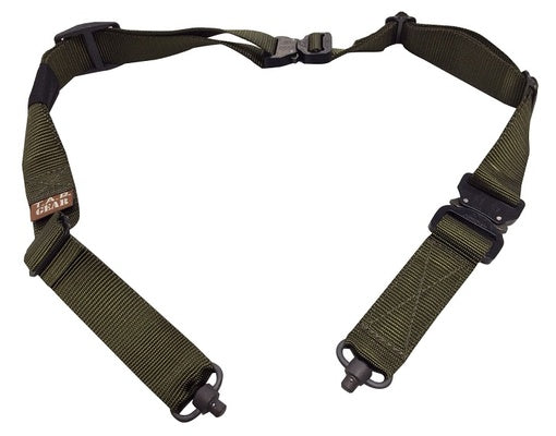 TAB Gear Sling, OD Green, Elite Buckles, Flush Cup Swivels