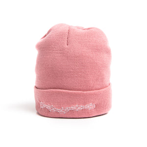 SHACKLED BEANIE(dusty pink)