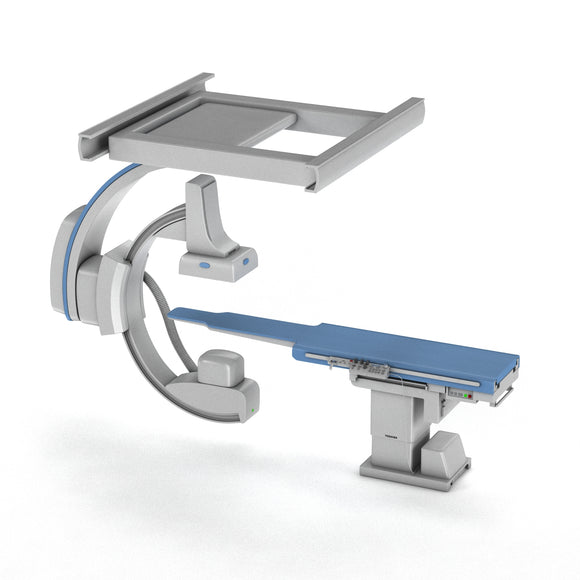 C-Arm System with Table Toshiba Infinix i Core - 3D Model