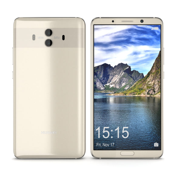 Huawei Mate 10 Champagne Gold - 3D Model