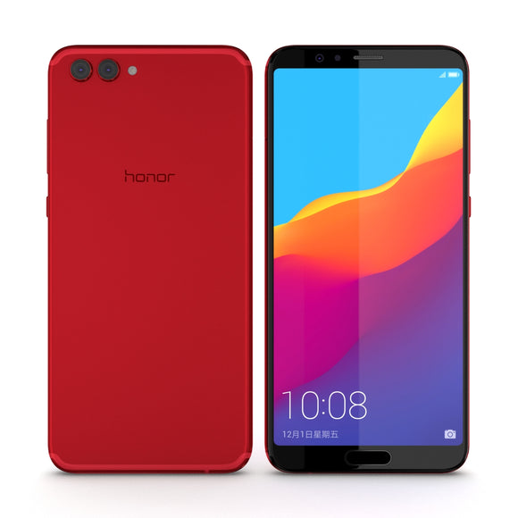 Huawei Honor View 10 Charm Red - 3D Model