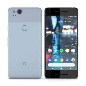 Google Pixel 2 Kinda Blue - 3D Model