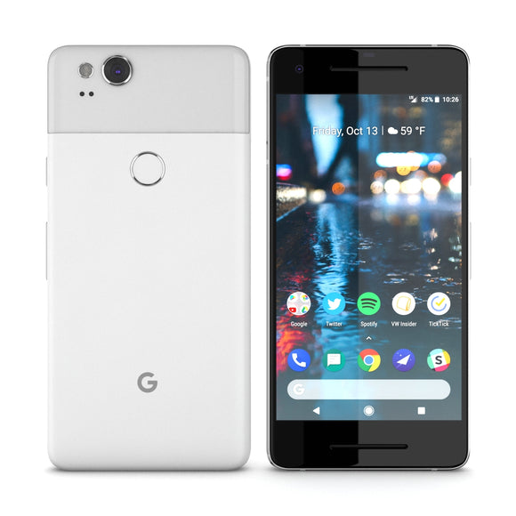Google Pixel 2 Clearly White - 3D Model