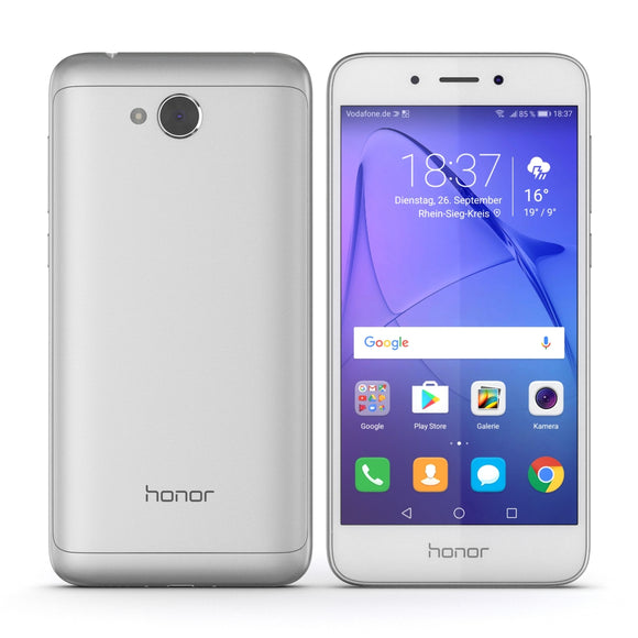 Huawei Honor 6A Silver - 3D Model