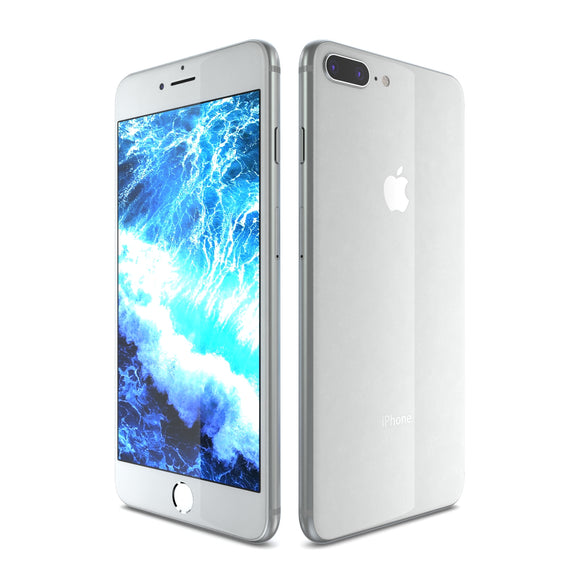 Apple iPhone 8 Plus Silver - 3D Model