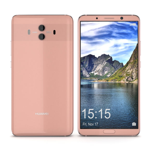 Huawei Mate 10 Pink Gold - 3D Model