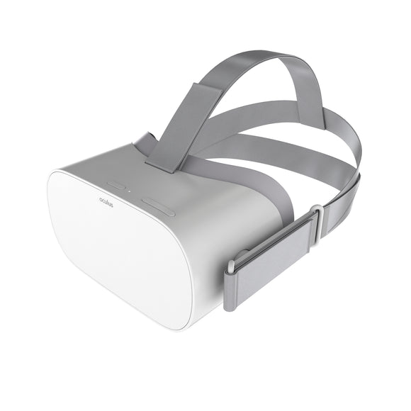 Oculus Go Headset Virtual Reality VR - 3D Model