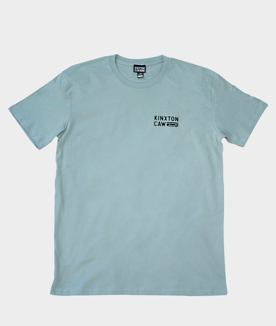 LOGO TEE PALE BLUE