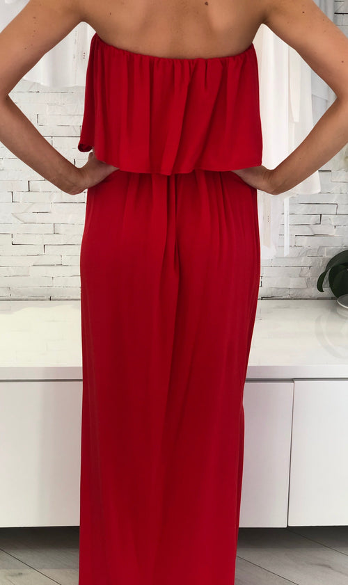Red Eden Dress