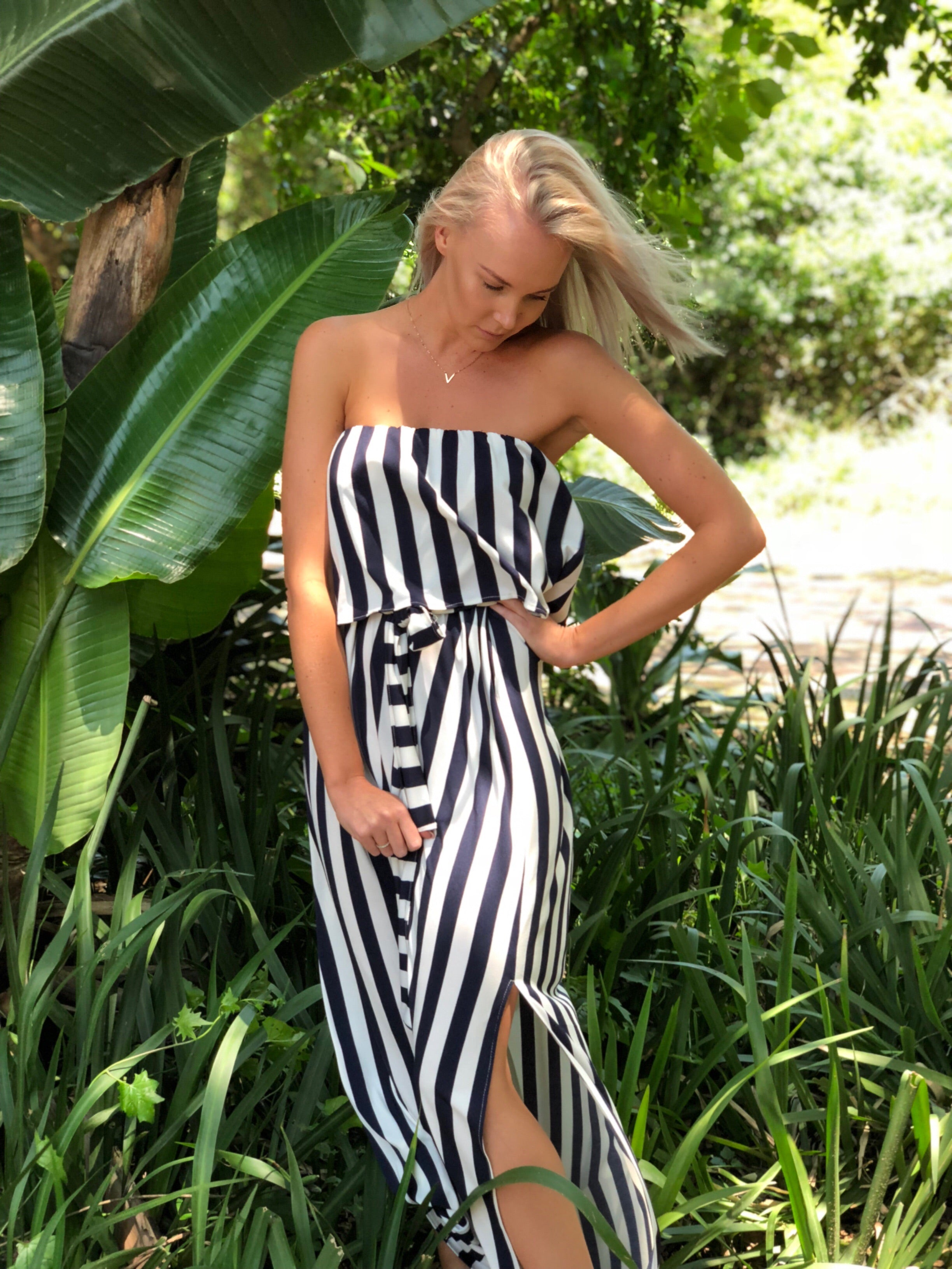Striped Eden Dress