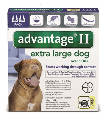 Advantage II Extra Large Dog