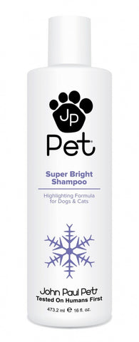 John Paul Pet Super Bright Moisturizing Shampoo For Dogs And Cats