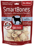 SmartBones Mini Chicken Chew Bones Dog Treats