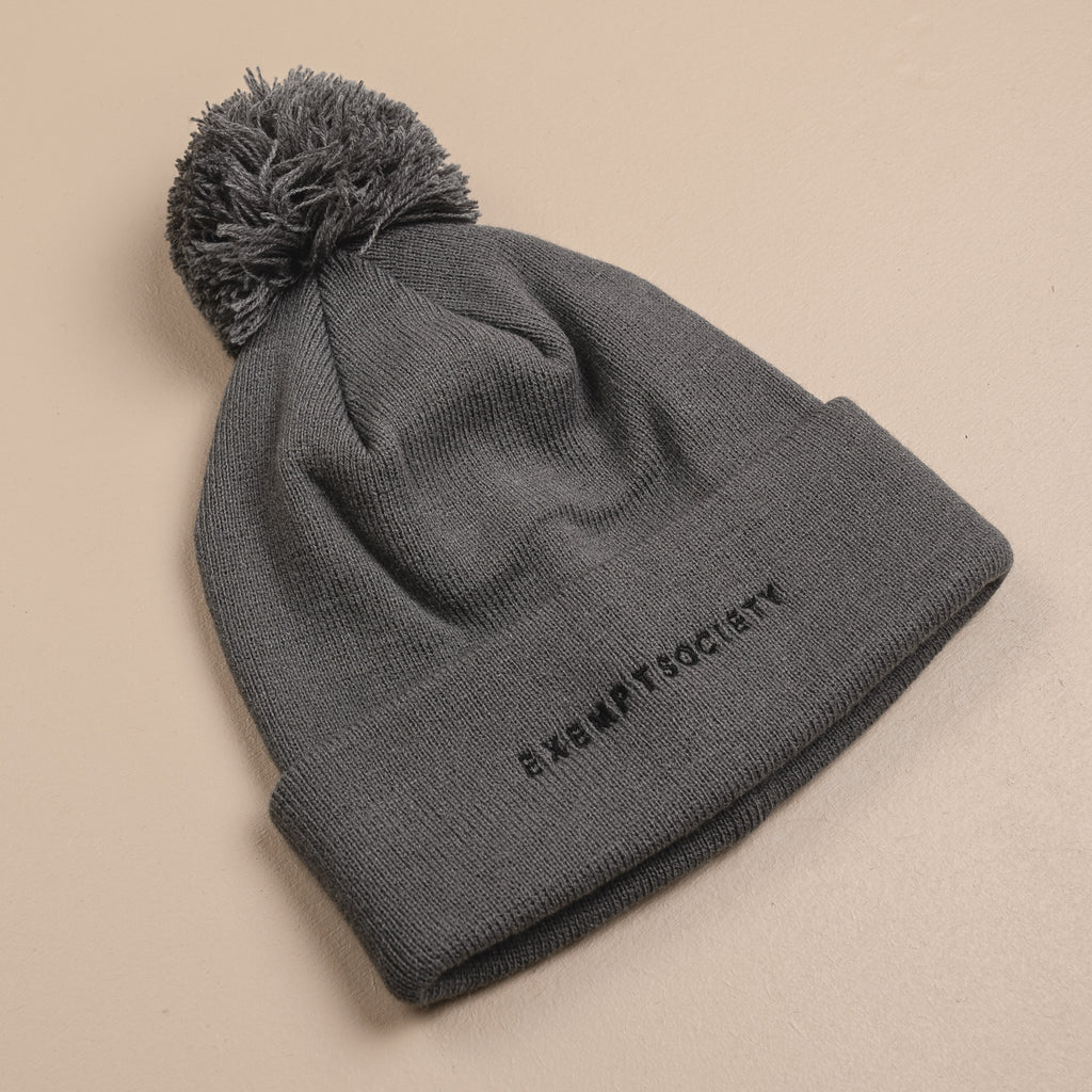 Exempt Beanie - Grey / Black