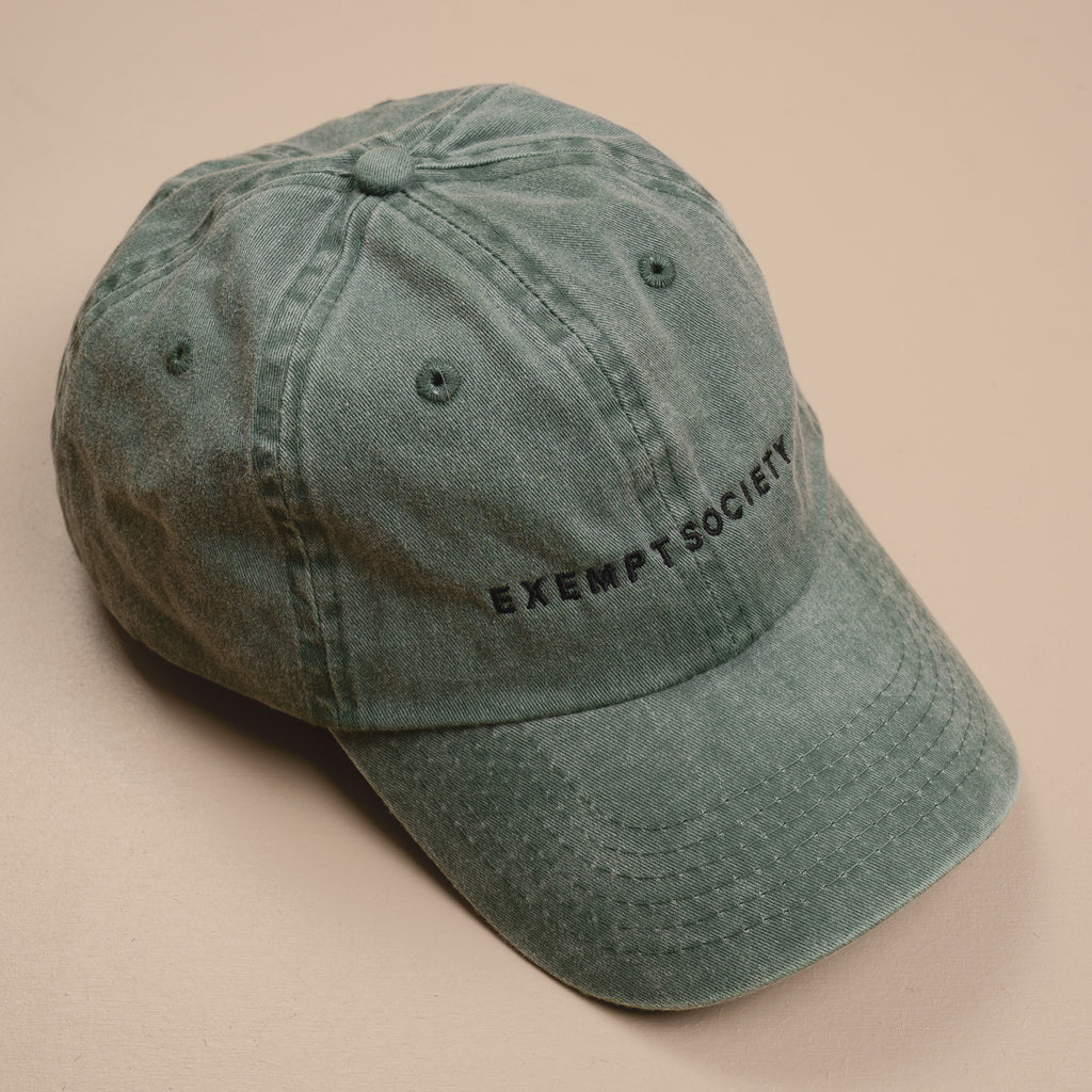 Exempt 90s Cap - Washed Khaki